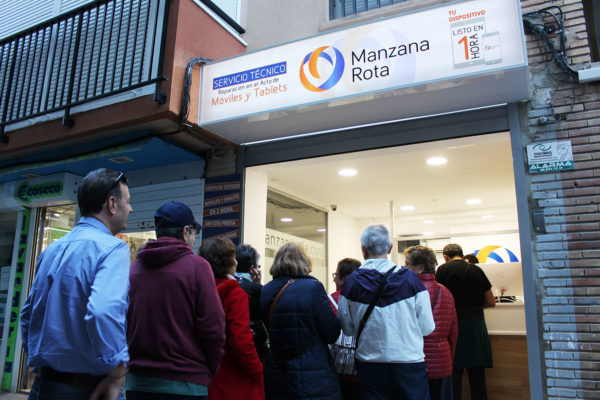 Inauguración Manzana Rota Benidorm Centro