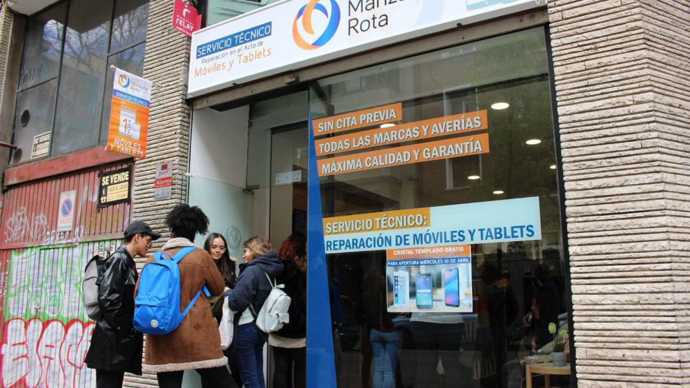 Inauguración Manzana Rota Madrid, calle Quintana