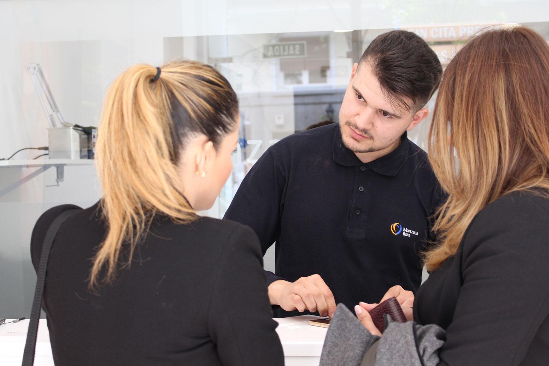 Atención al cliente - C/ Quintana (Madrid)