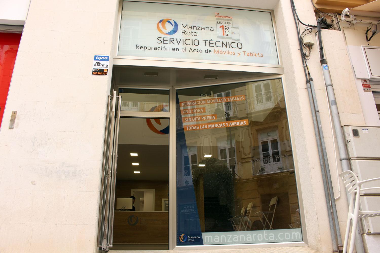 Tienda Manzana Rota - Cartagena (Murcia)