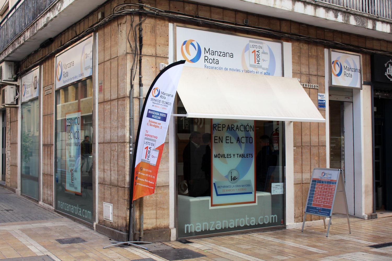 Tienda Manzana Rota - Huelva, exterior