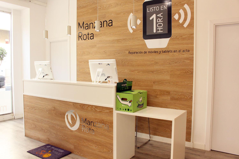 Tienda Manzana Rota - Huelva, interior