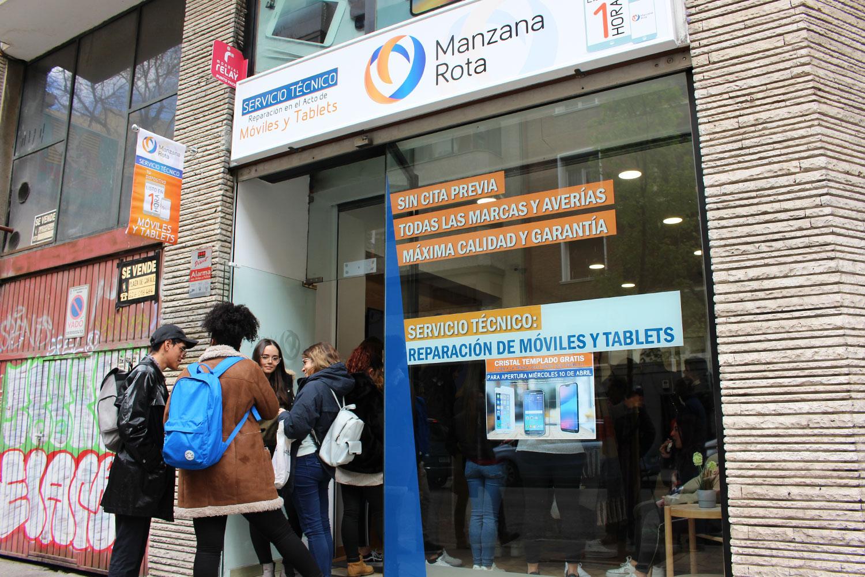 Tienda Manzana Rota - C/ Quintana (Madrid), exterior