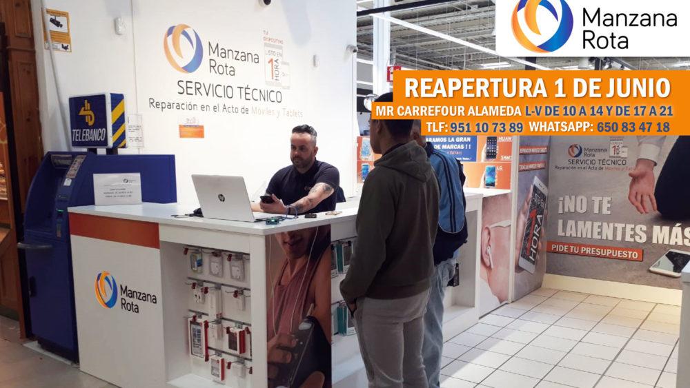 ¡Manzana Rota Málagade Carrefour Alameda vuelve a la carga!
