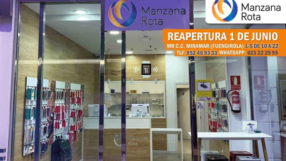 ¡Manzana Rota Málagade C. C. Miramar de Fuengirola vuelve a la carga!