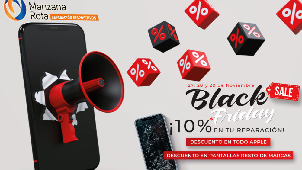 ¡Black Friday 2020 en Manzana Rota!