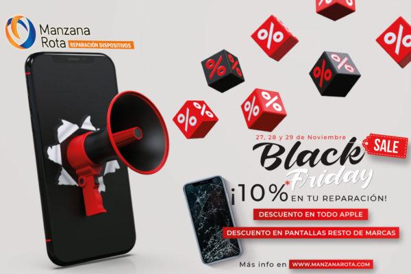 ¡Black Friday 2020 en Manzana Rota!