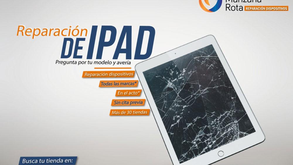 Reparar iPad Málaga - Manzana Rota