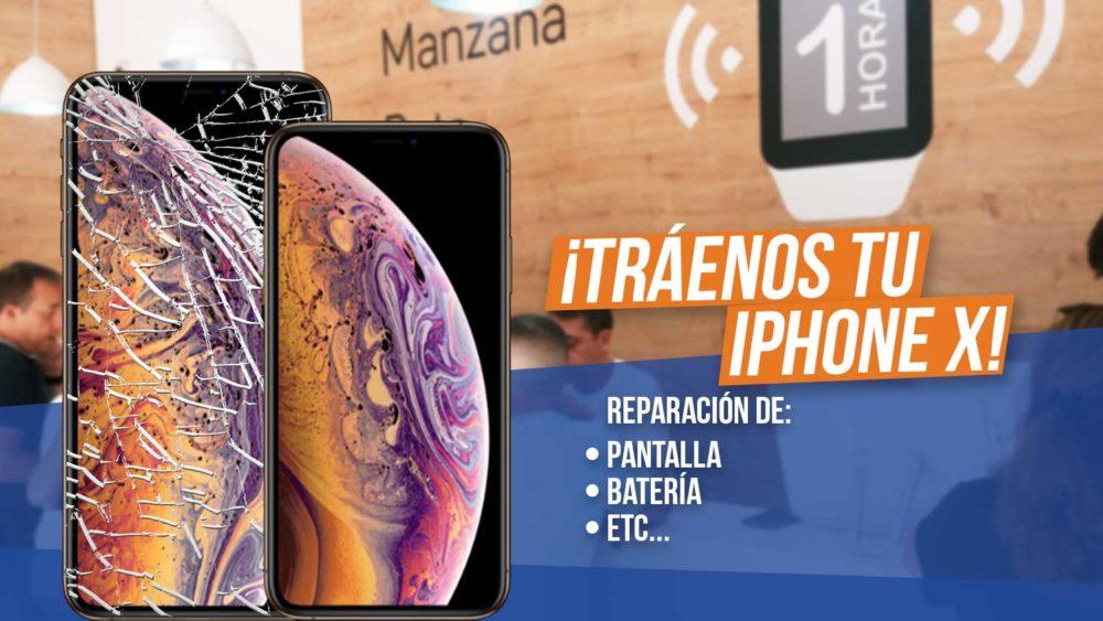 Reparar pantalla iPhone X Malaga - Manzana Rota